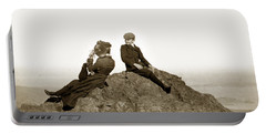 Portable Battery Charger featuring the photograph Mount Tamalpais Marin County  Circa 1902 by California Views Mr Pat Hathaway Archives