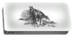 My Stallion Portable Battery Charger by Laurie L