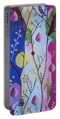 Portable Battery Charger featuring the painting Nature's Bounty by Kathleen Sartoris