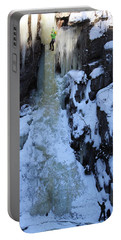The Wintery Flume  Portable Battery Charger