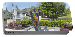 Jazz Music Sculpture In New Orleans 28b Portable Battery Charger