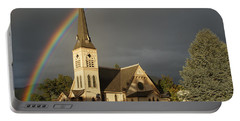 Newman United Methodist Church Portable Battery Charger by Mick Anderson