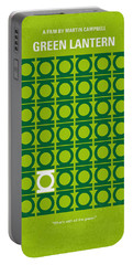 No120 My Green Lantern Minimal Movie Poster Portable Battery Charger