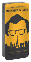 No312 My Manhattan Minimal Movie Poster Portable Battery Charger