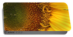 Portable Battery Charger featuring the photograph O Sunflower by Jeanette French