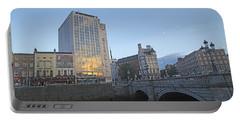 O'connell Bridge Dublin Ireland Portable Battery Charger
