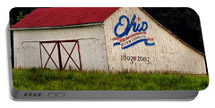 Ohio Bicentennial Barn Portable Battery Charger