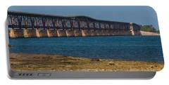 Old Bahia Honda Bridge Portable Battery Charger