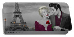 Paris Sunset Portable Battery Charger