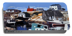 Peggy's Cove Portable Battery Charger by Lydia Holly