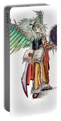 Pelusis God Of Law And Order Portable Battery Charger