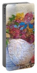 Petals And Blooms Portable Battery Charger