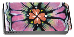 Petit Flower Portable Battery Charger