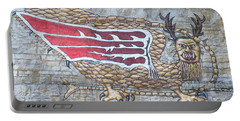 Portable Battery Charger featuring the photograph Piasa Bird by Kelly Awad