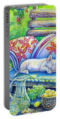 Pig On A Porch Portable Battery Charger