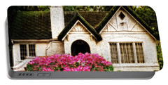 Pink Azaleas - Old Southern Charm By Sharon Cummings Portable Battery Charger