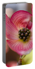 Pink Dogwood Portable Battery Charger
