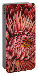 Pink Mum Portable Battery Charger by Bruce Bley