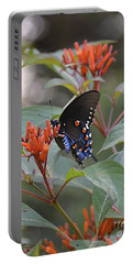 Portable Battery Charger featuring the photograph Pipevine Swallowtail II by Carol  Bradley