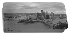 Pittsburgh - View Of The Three Rivers Portable Battery Charger