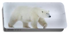 Polar Bear Ursus Maritimus Walking Portable Battery Charger