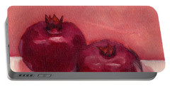 Pomegranates Portable Battery Charger