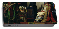 Pope Formosus And Pope Stephen Vi Portable Battery Charger