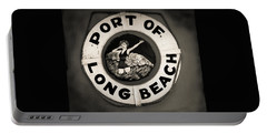 Port Of Long Beach Life Saver Vin By Denise Dube Portable Battery Charger