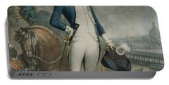 Portrait Of The Marquis De La Fayette Portable Battery Charger