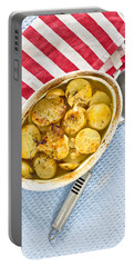 Potato Dish Portable Battery Charger by Tom Gowanlock