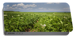 Potato Field In Prince Edward Island Portable Battery Charger