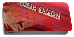 Power Wagon Portable Battery Charger by David S Reynolds