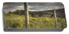Prairie Fence Portable Battery Charger