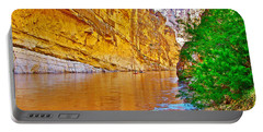 Rafting In Santa Elena Canyon In Big Bend National Park-texas Portable Battery Charger