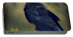 Raven Portable Battery Charger by Yulia Kazansky