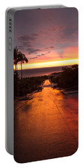 Sunset After Rain Portable Battery Charger