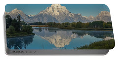 Reflections Of Mount Moran Portable Battery Charger