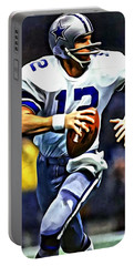 Roger Staubach Portable Battery Charger