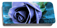 Rose In Water  Portable Battery Charger