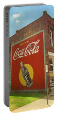 Route 66 - Coca Cola Ghost Mural Portable Battery Charger