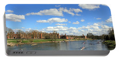 Rowing On The Thames At Hampton Court Portable Battery Charger