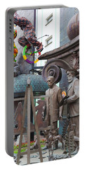 Russian Super-artist Sculptures, Zurab Portable Battery Charger by Panoramic Images