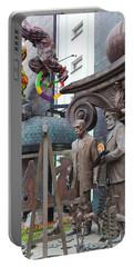 Russian Super-artist Sculptures, Zurab Portable Battery Charger