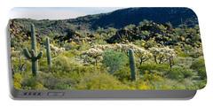 Saguaro Cactus Carnegiea Gigantea Portable Battery Charger