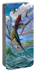 Sailfish And Lure Portable Battery Charger