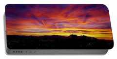 Salt Lake City Sunset Portable Battery Charger