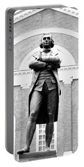 Samuel Adams Statue, State House Boston Ma Portable Battery Charger