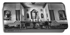 Portable Battery Charger featuring the photograph San Carlos Cathedral by Ron White