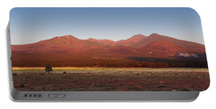 San Francisco Peaks Sunrise Portable Battery Charger