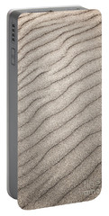Sand Ripples Abstract Portable Battery Charger